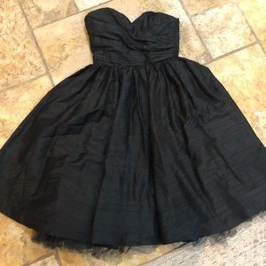 ABS black cocktail dress